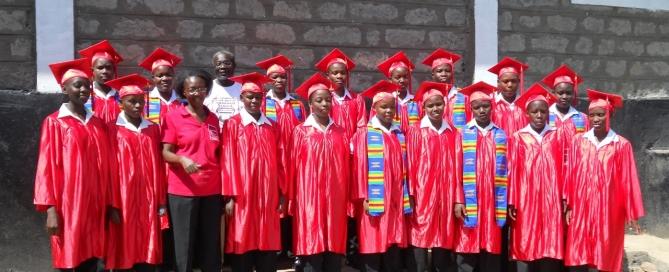 Graduation Ceremony at Jane Adeny Memorial School