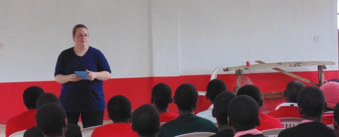 Ami Irmen Teaching at JAMS