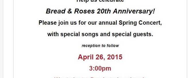 Bread & Roses Spring Concert